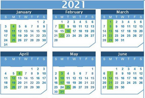2021 Waste Collection Calendar