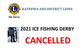 Fishing Derby Cancelled