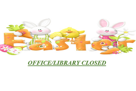 Office/Library Closed Good Friday