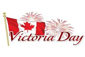 Closures for  Victoria Day