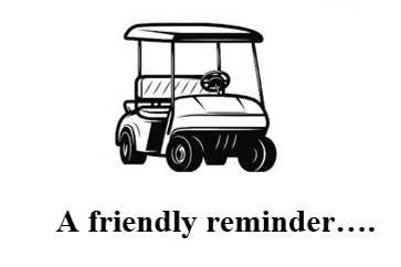 Golf Cart Operation